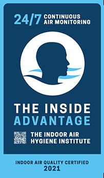 The Inside Advantage Seal